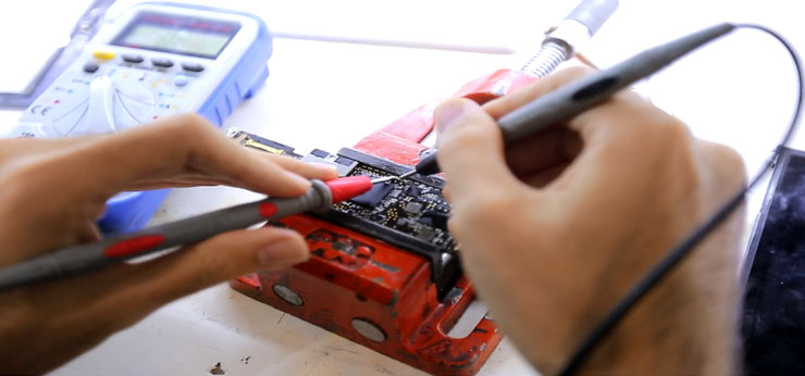 آموزش تعمیر آیپاد